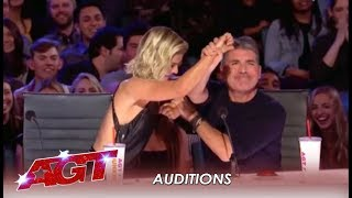 Simon Cowell TEACHES The New Judges How To Say NO and Hit Red! | America's Got Talent 2019