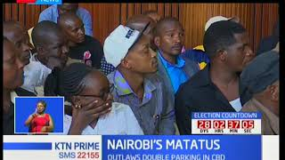 Nairobi Governor Mike Sonko reaches an amicable solution with matatu operators