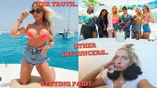 The truth about BRAND TRIPS!! What actually happens,other influencers & getting paid  ..