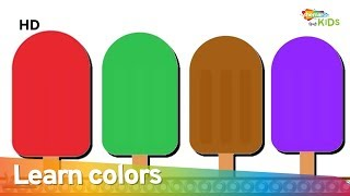 Learn Colors In Hindi With Ice Cream | Hindi Color Rhymes For Children | Shemaroo Kids Hindi