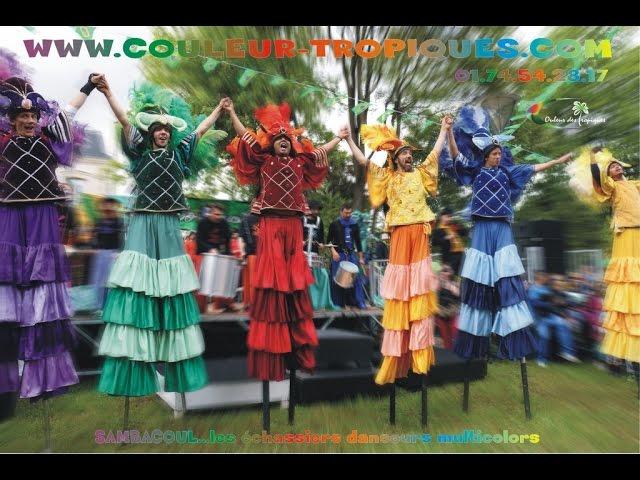 LES ECHASSIERS SAMBACOUL - couleur des tropiques