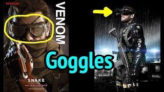 Big Boss Motorcycle Goggles and NVG in MGSV: Phantom Pain (Metal Gear Solid 5)