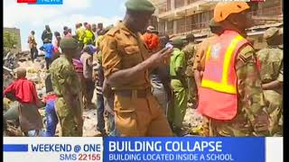 The death toll rises to three after a building collapses at Huruma Estate