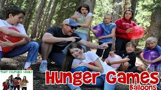 HUNGER GAMES BALLOON WAR / That YouTub3 Family