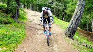 preview picture of video 'Latsch-Laces Mountain Biking | Südtirol, Italy'