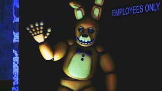 SPRING BONNIE IS HIDING BACKSTAGE WAVING TO ME... TERRIFYING CUTSCENE. | FNAF New Nights at Freddy's