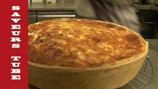 How to make a Quiche Lorraine with TV Chef Julien from Saveurs Dartmouth U.K,