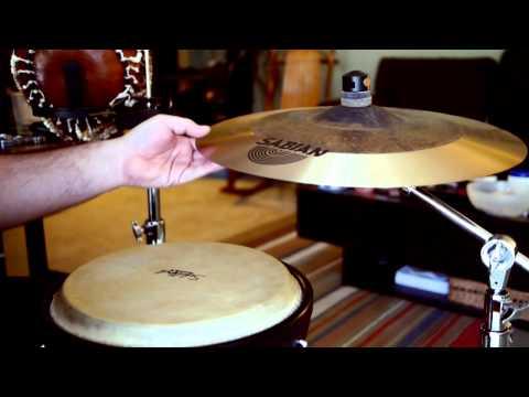 Sabian 18″ El Sabor AAX Hand Cymbal Review and Demo