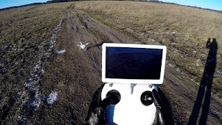 FPV квадрокоптер UPair Chase с GPS, камерой, монитором и 2-х осевым подвесом