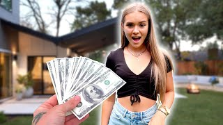 WE GAVE HER $10,000 FOR HER 15TH BIRTHDAY! 😱