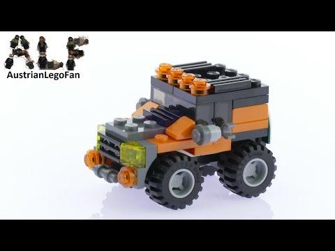 Vidéo LEGO Creator 31043 : Le transport de l'hélicoptère