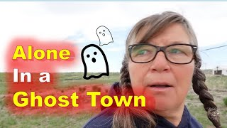 3 Nights Alone in a Wyoming Ghost Town - Gebo Ghost Town, Wyoming