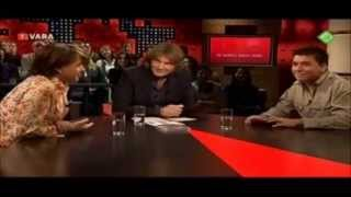 De Wereld Draait Door -  Jan Smit doet live nasynchronisatie in het Duits