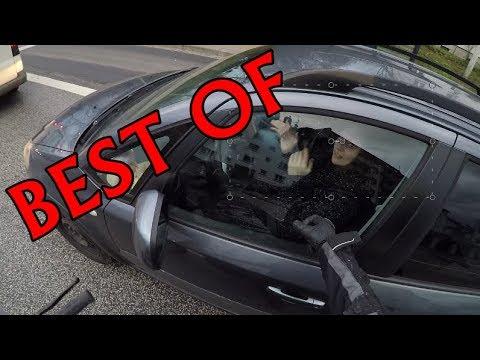 Auto fährt mich fast um !  | Best of Motorrad Dashcam #01