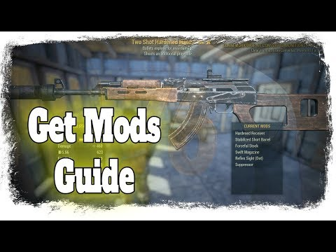 Fallout 76 - Handmade Rifle Schematics [RARE WEAPON GUIDE