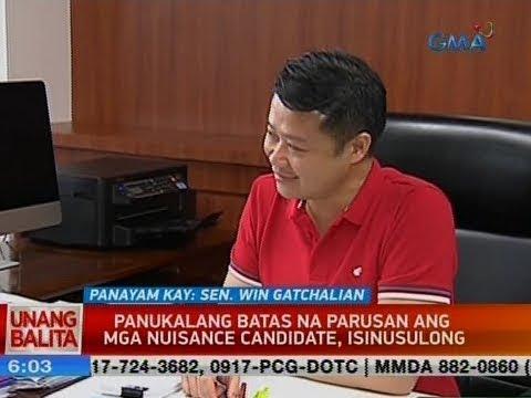 [GMA]  UB: Panayam kay Sen. Win Gatchalian