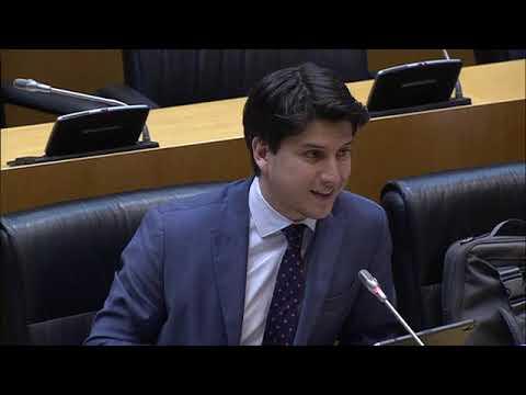 Intervención de Diego Gago en la Comisión para la Reconstrucción Económica y Social