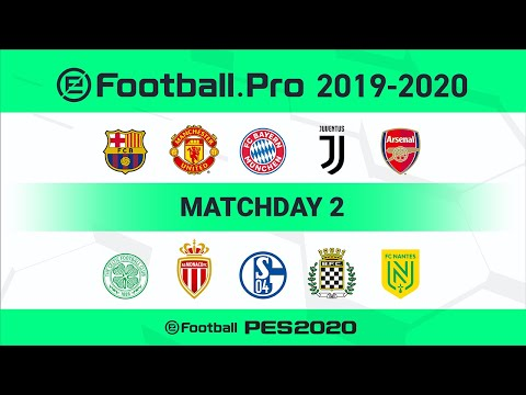PES | Arsenal FC VS Manchester United FC (Featured Match) | eFootball.Pro 2019-2020 #2 Full Match