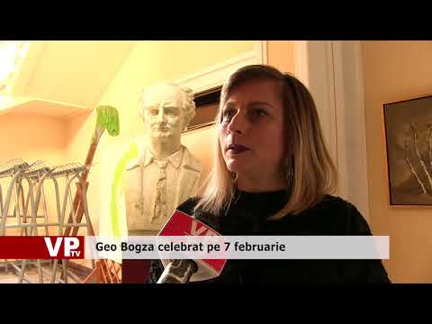 Geo Bogza celebrat pe 7 februarie.