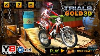 Trials Gold 3D, 3D Motorcycle Game, Motorcross Racing Games, Games for Children