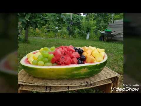 Obstschale für Kindergeburtstag
