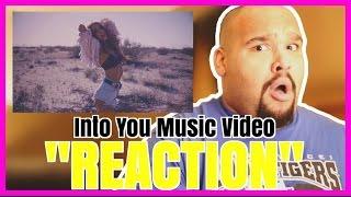 ARIANA GRANDE - INTO YOU MUSIC VIDEO [REACTION]