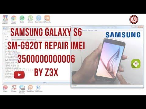 Repair IMEI Blacklisted 3500000000006 Galaxy S6 Edge G925A