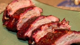 """How to Smoke Baby Back Ribs on a Weber 26.75"""" One Touch Gold Kettle"""
