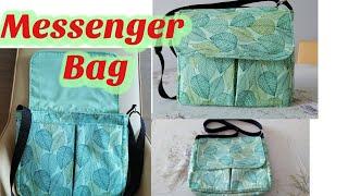 How To Sew Messenger Bag