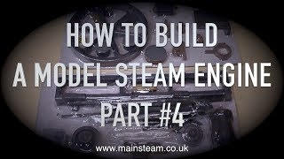 HOW TO BUILD A MODEL STEAM ENGINE  - STUART MODELS VICTORIA - PART #4 - MACHINING THE FLYWHEEL