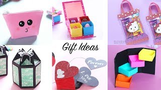6 Easy Gift Ideas | DIY Gift Boxes | Gift Ideas