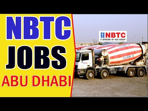 Vacancies in NBTC company Kuwait for indian /interview at 23