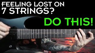 How To Shred On 7 Strings   Modern Metal Riffs & Licks Lesson