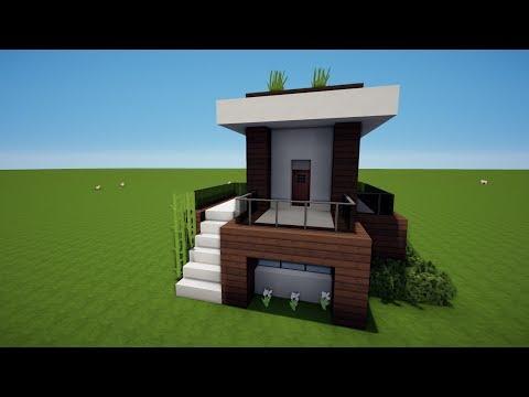 Wie Baut Man Ein Kleines Haus In Minecraft Minecraft Kleines Haus - Minecraft hauser bauen tutorial