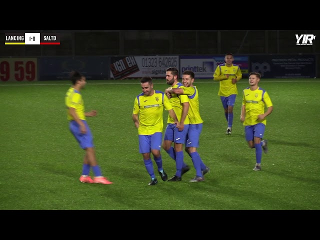 Highlights: Lancing 3 Saltdean 0 (League)