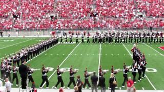 Ohio State University Marching Band Ramp Entire Pregame Script Ohio 9 1 2012 vs Miami OH