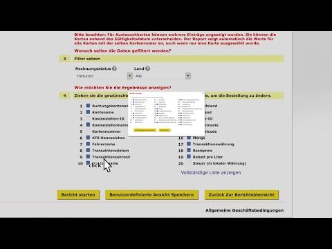 Offline Berichten: Wie erstellt man Analysen und Berichten?
