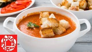 То что нужно в Жаркий день! Летний суп Гаспачо