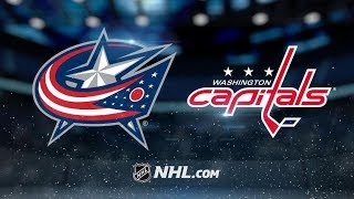 Columbus Blue Jackets vs Washington Capitals | Jan.12, 2019 | Game Highlights | NHL 2018/19 | Обзор