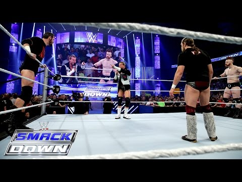 Chaos Opens SmackDown As Five Superstars Decide To Join Daniel Bryan: SmackDown, April 9, 2015