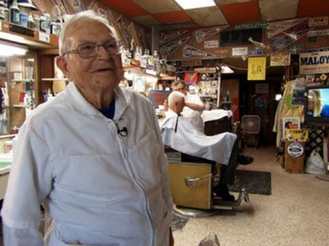 On the Road: 98-year-old barber lives on cutting edge