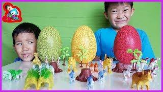 น้องบีม   รีวิวของเล่น EP95   ไข่ไดโนเสาร์ยักษ์ Toys