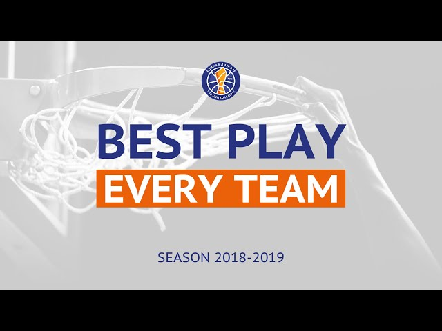 Best Play Of Every VTB League Team | Season 2018-19