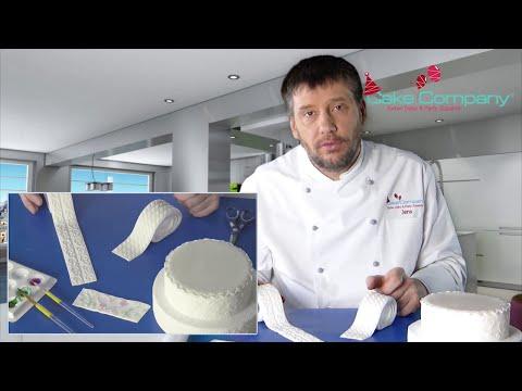 Tortenrand Kordel eindecken - Test mit Tipps vom Profi
