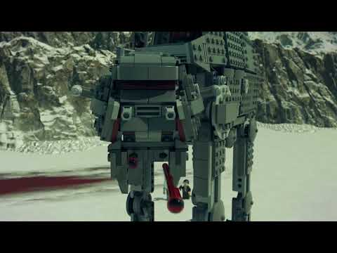 Vidéo LEGO Star Wars 75189 : First Order Heavy Assault Walker