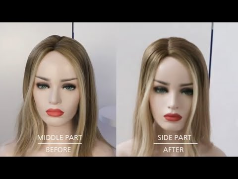 How to Change the Hair Part