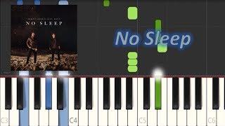 Martin Garrix feat  Bonn - No Sleep (Piano Tutorial)|Magic Hands