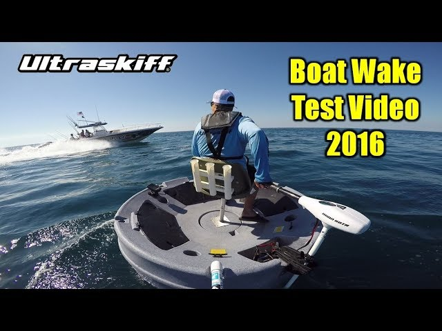 Ultraskiff 360 Boat Wake Field Test and Review 2016