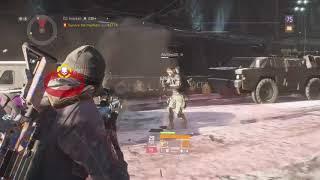 Solo Manhunt 1.7 Firecrest+Tac Build Turret And M4 Damage #DRN