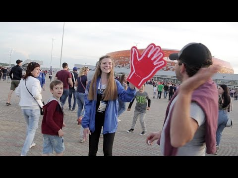 Video: Meeting Russia's World Cup volunteers